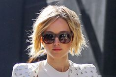 Jennifer Lawrence Is Growing Her Hair Out in the Cutest Way Possible