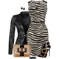 Dress and Blazer 2, created by daiscat on Polyvore