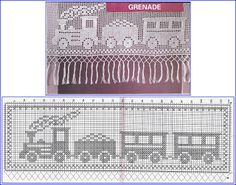 Szydełkomania: Bordiury, koronki, zazdrostki crochet curtains, cortina, crochê para, bordiuri, filet crochet, koronki, crochê trenzinho, craft chart, szydełkomania