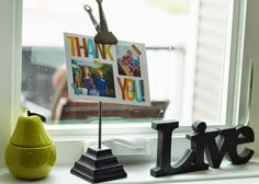 Abby embellished her thank you card with some of her favorite summer memories.