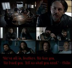 Chibs! My second favorite :)