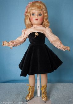 "18"" Madame Alexander Babs Skater All Original #DollswithClothingAccessories"