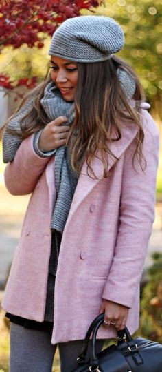 #Pink #Coat by Monday To Friday
