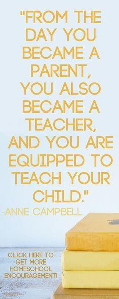 Don't doubt yourself, #homeschool mom! Click here for your permission slip. via hedua.com/blog