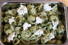 Pesto Pasta for the lunchbox
