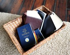 Together is a great place to be: Family Scripture Study