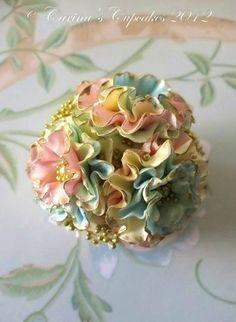pastel, cupcak bake, baking cupcakes, flower cupcakes, sugar flowers