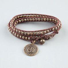 FULL TILT Beaded Wrap Bracelet