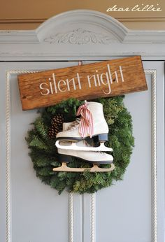 Driven By Décor: Holiday Decorating: Skates & Sleds