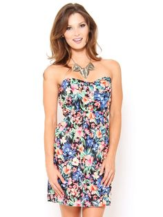 Tropical Print #Dress