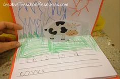 Farm Pop-up Book Printables