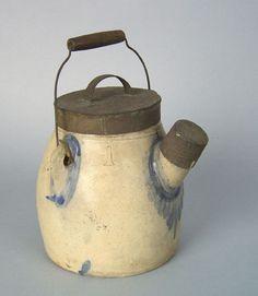 one gallon stoneware batter jug