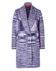 { missoni double breasted coat }