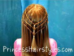 Princess hair for girls