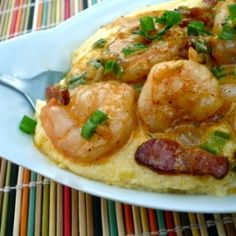 Comforting Shrimp and Grits