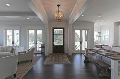 Smythe St - beach-style - Entry - Charleston - Southeastern Custom Homes