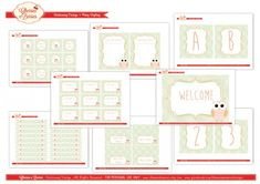 Free Printables: Back to School Labels by @Catch My Party
