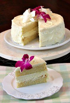 Meyer Lemon Cheesecake Cake recipe