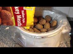 Grape Jelly Meatballs (Crockpot)