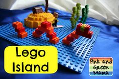 Preserving Lego Memories and Fun With Legos: Lego Island from Pink and Green Mama