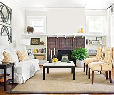 Find ways to update your living room with our best makeover tips here: http://www.bhg.com/rooms/living-room/makeovers/living-room-makeover-tips/?socsrc=bhgpin090914livingroommakeovertips