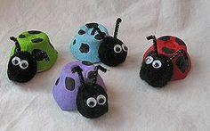 12  Egg Carton Crafts for Kids