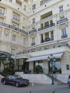 Hotel De Paris in Monaco-- dreamy