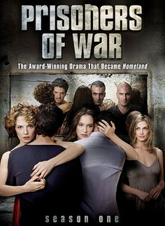 PRISONERS OF WAR SEASON 1.  Hebrew language.  The Israeli show that inspired Homeland tells the story of three Israeli soldiers captured for seventeen years and the lives they return to after being released. Season One begins with two soldiers and the remains of a third returning to the families they have been estranged from for so long.  http://highlandpark.bibliocommons.com/search?utf8=%E2%9C%93&t=smart&search_category=keyword&q=prisoners+neeman&commit=Search