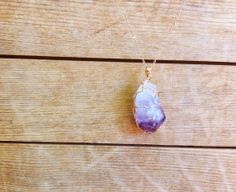 Fable  Lore Amethyst Point Pendant