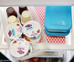 Oodles of Fridge Organizing Tips!