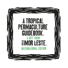 A Tropical Permacult