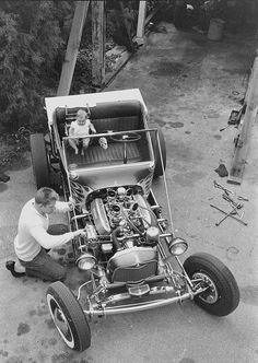 vintag custom, clasic car, vintag shot, hot rod