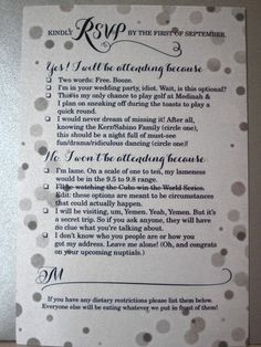 Such a cute idea for a RSVP.  I bet that get a HUGE repsonse