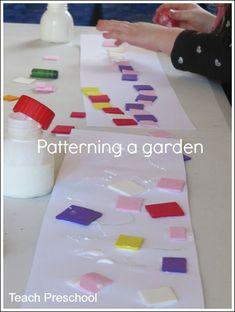 Patterning a garden by Teach Preschool