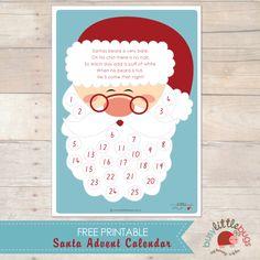 Free Santa Advent Calendar