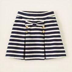 pleated striped bow skirt #bigbabybasketsweeps