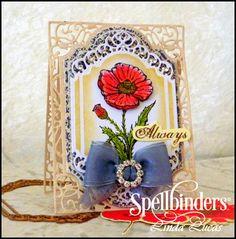 #Spellbinders Tuesday Video Tutorial by designer @Lovely Linda  , Fun in the Sun card, DIY, handmade
