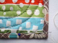 Binding Tutorial for Mini Quilts / Mug Rugs