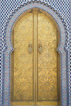 Golden door. Morocco