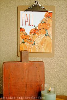 Free Fall Watercolor Printable