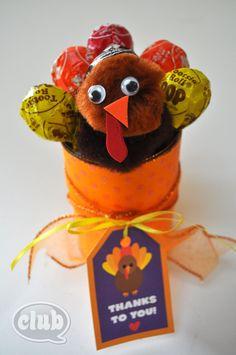 Turkey Tootsie Pop Bouquet
