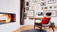 Great blog about art walls