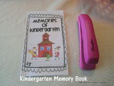 memori book, memory books, kindergarten memori