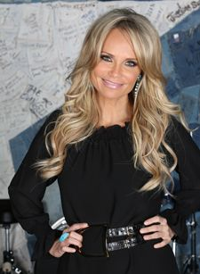 Kristin Chenoweth's Hair--I actually have this hair. If only I'd do something with it.