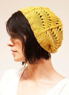 lace hat knitting pattern -- free download at rubysubmarine.com