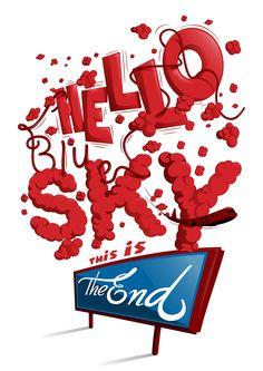 Hello blue sky... www.blindsalida.fr