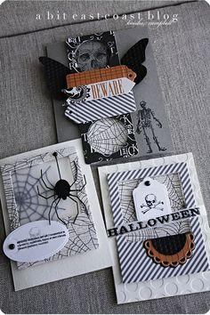 #papercraft #Halloween #card