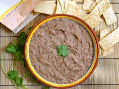(not) Refried Beans  (slow cooker)
