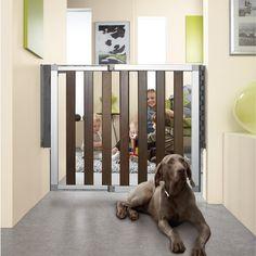 modern baby, baby gates, munchkin, safety, lofts, safeti gate, dark wood, babi gate, kid