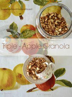 Triple-Apple Granola